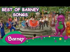 Barney - Best of Barney Songs (40 Minutes) - YouTube