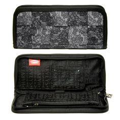 Clutch Wallet Lace #seatbeltbags