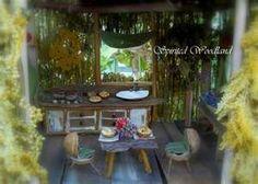 beautiful miniature fairy house detail
