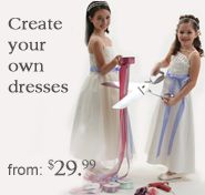 Create your own dresses. From $29.99