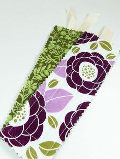 Sisters, Sisters: Fabric Bookmark tutorial