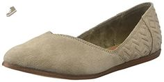 Toms Women's 10009832 Suede Diamond JuttiPointed Toe Flat, Taupe, 6.5 M US - Toms flats for women (*Amazon Partner-Link)