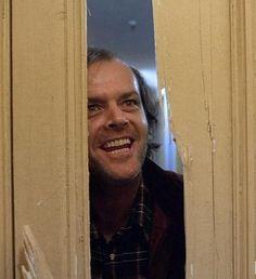 """Jack Nicholson en """"El Resplandor"""" (The Shining), 1980"""