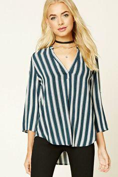 Striped Boxy Top