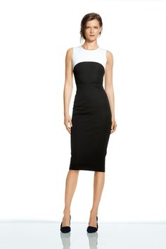 Obsessing over this Colorblock Sheath Dress from the Roland Mouret for Banana Republic Collection. In stores August 7th