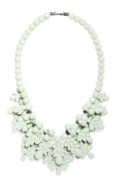 Shop The Fog Green Charleston Necklace by Ek Thongprasert Now Available on Moda Operandi