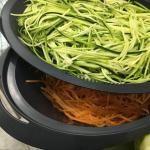 Zucchini-Möhren-Salat