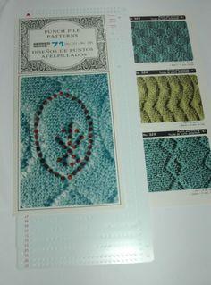 Pre-motif-poing-ensembles-de-cartes-pour-machine-a-tricoter-ribbers-punch-pile-patterns