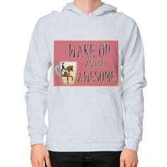 Equestrian Apparel - Wake Up - Pullover (on man)