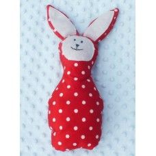 Red Bunny Bunny, Christmas Ornaments, Toys, Holiday Decor, Red, Home Decor, Products, Activity Toys, Decoration Home