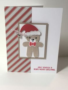 Cookie Cutter Bear by SerenaB - Cards and Paper Crafts at Splitcoaststampers