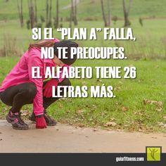 No te preocupes si el plan falla #plan #planning #motivacion #frases #fitness #motivation #quotes #guiafitness #