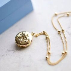 Keep your memories close with the Sun, Moon & Stars Locket ☀🌑 ✨ Stars And Moon, Sun Moon, Irish Design, Hand Thrown Pottery, Irish Jewelry, Handmade Jewelry, Jewelry Design, Gold, Designers