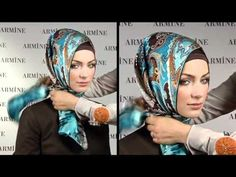 Esarp Baglama Sekilleri 2 - Armine Esarp / Turkish Hijab Tutorial