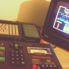 #retrocomputer #retrogaming moment with #amstrad