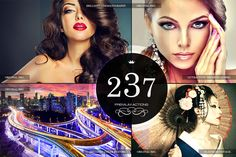 237 Premium Photoshop Actions by Premium Photoshop Add-ons on Creative Market
