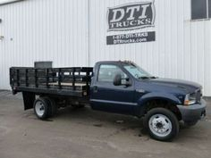 2004 Ford F-550 Super Duty, 12'L Stakebed, Triton V-10 6.8L Gasoline Engine http://equipmentready.com/details/2004_other_ford_f_550+super+duty-5539698 #truck