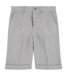 DOLCE & GABBANA boys Pinstripe Bermuda Shorts