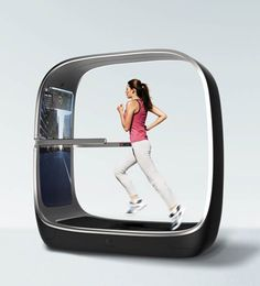 Smart Treadmill Voyager – Le futur des salles de sport » I was just talking about how awesome this exact thing would be! I really think the world is listening in on my ideas! :)