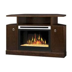 corner elec fireplaces | Home :: Fireplace :: Electric :: Fireplace w/Mantel :: 25-Inch Corner ...