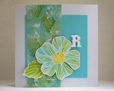 110428 Linda other Lyra R+flower by Decoratie Coudenys - a Lut of stamps (Lut), via Flickr