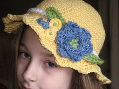 Ravelry: Summer Blooms Hat Pattern pattern by Deborah Devlin