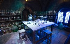 Warner Bros Studio Tour London: The Making of Harry Potter opens soon: Potion Room