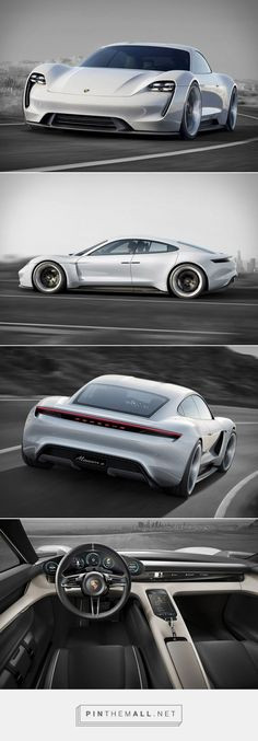 '' Porsche Mission E Concept '' Cars Design And Concepts, Best Of New Cars, Awesome Cars