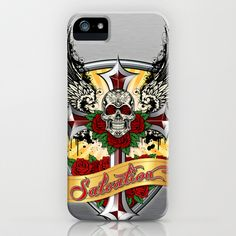ART IS SALVATION iPhone & Samsung Cases by Angel Torres - $35