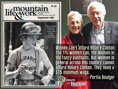 Portia is a true blue Woman 4 Bernie. VOTE FOR BERNIE! #FeeltheBern