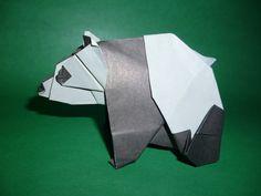Origami Panda Instructions (Fumiaki Kawahata)