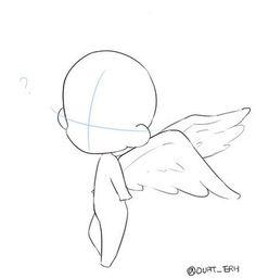 Angel chibi pose reference