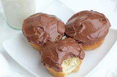 low carb cupcake, low carb Boston cream, sugar free cupcake,