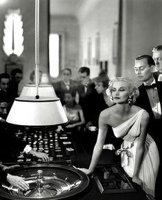 Sunny Hartnett, Harper's Bazaar 1954, casino Le Touquet