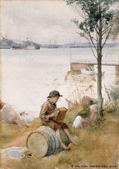 Serenadi rantapenkereellä, 1887