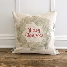 Custom-made holiday and everyday pillows