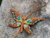 butterfly, can be used as a bracelet, necklace or anklet