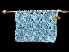 Knitting Machine Patterns, Knitting Stiches, Baby Hats Knitting, Knitting Videos, Crochet Stitches Patterns, Crochet Videos, Lace Knitting, Stitch Patterns, Knitted Hats