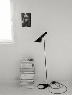 Arne jacobsen floor lamp [wish] | via mo_a