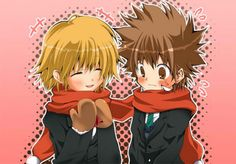 Anime&Manga - Best Anime Couples: Kyoko x Tsuna -- Admit it! They're too cute together!