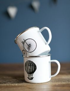 Enamel Mug from Rose & Grey
