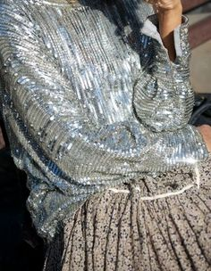 No such thing as a top with too many sequins
