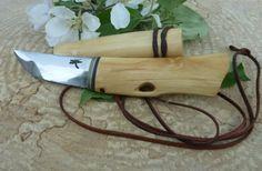 Bush n' Blade (ブッシュクラフトと刃物鍛冶): Makiri-Neck Knife - マキリ・ネックナイフ