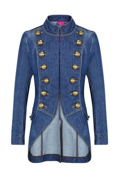 General Denim - The Countess Types Of Jeans, Diy Wardrobe, Funky Outfits, Military Style Jackets, Rock Style, Military Fashion, Blazer Jacket, Denim Jeans, Sweaters