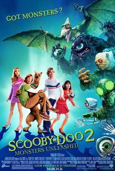 Scooby Doo 2: Monsters Unleashed (2004) SEEN THIS SOOOOOO MANY TIMES WILL BE MY FAV MOVIE UNTIL I DIE