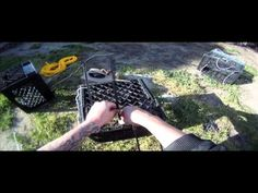 How To Make A Milk Crate Crab & Crayfish Trap