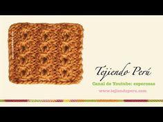 CURSO GRATIS DE TEJIDO DOS AGUJAS: Punto Ojo de Perdiz | Crochet y Dos agujas