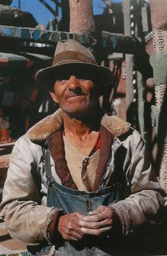 Sam Rodia - creator of the Watts Towers, one of America's most famous works of folk art. Immigrant Italian construction worker Sam Rodia built Watts Towers in his spare time, from in Los Angeles, CA.
