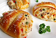 Zöldséges pillangók My Recipes, Favorite Recipes, European Dishes, Hungarian Recipes, Hungarian Food, I Want To Eat, Bread Baking, Entrees, Breakfast Recipes