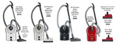 Canister Vacuum Cleaner, SEBO AIRBELT D4, Best Canister Vacuum Cleaner